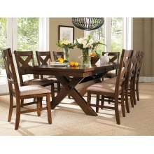 9-Pc. Kraven Dining Set - (1) 713-417 Dining Table & (8) 713-434 Side Chairs