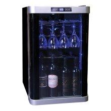32-Bottle Display Window Wine Cellar / HVDW32ABB
