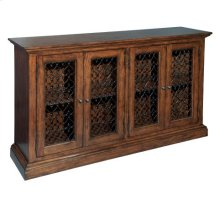 Fleur de Lis Entertainment Center