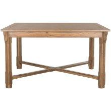 Bleeker Wood Dining Table - Oak