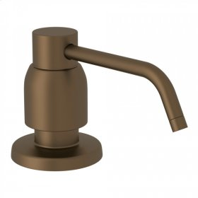 English Bronze Perrin & Rowe Contemporary Deck Mount Soap Dispenser
