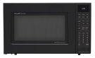 1.5 cu. ft. 900W Sharp Matte Black Carousel Convection Microwave Oven (SMC1585BB) Product Image