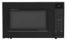 1.5 cu. ft. 900W Sharp Matte Black Carousel Convection Microwave Oven (SMC1585BB) Product Image