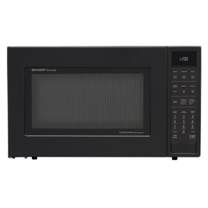Sharp Appliances1.5 cu. ft. 900W Sharp Matte Black Carousel Convection Microwave Oven