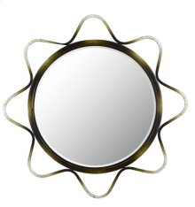 LORCA METAL MIRROR WITH BEVELED GLASS