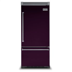 "Plum 36"" Bottom-Mount Refrigerator/Freezer - VIBB (Right Door Hinge)"