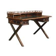 Desk, Available in Abaca or Seagrass Finish.