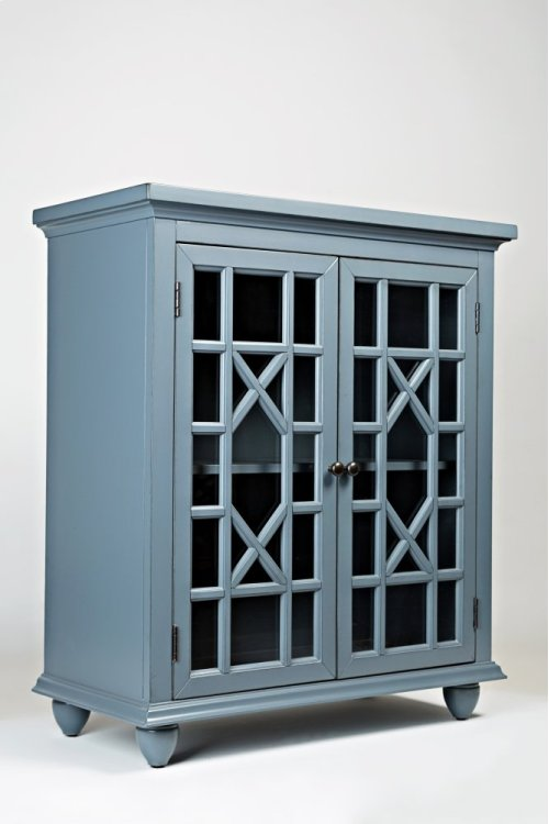 Brighton Park Accent Chest- Cornflower Blue