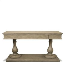 Corinne Pedestal Top 97 lbs Sun-drenched Acacia finish