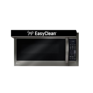 LG AppliancesLG Black Stainless Steel Series 2.0 cu.ft. Over-the-Range Microwave Oven with EasyClean(R)