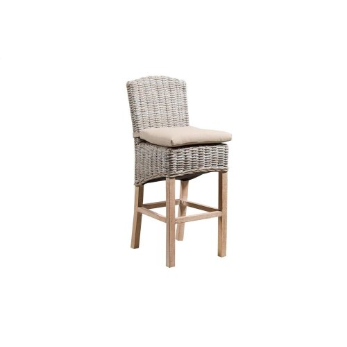 30'' Bar Stool, Available in Washed Texture Finish Only.