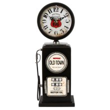Old Town Black Table Top Clock