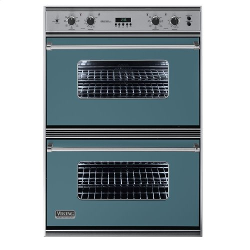 "Iridescent Blue 36"" Double Electric Oven - VEDO (36"" Double Electric Oven)"