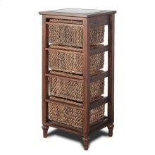 4-Basket Vertical Storage Cabinet