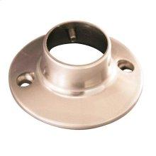 Round Shower Rod Flange - Antique Brass