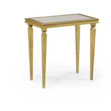 Italian Gilded Rectangular Side Table