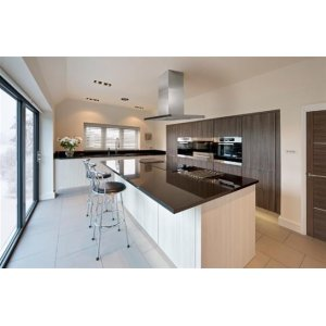 """Eclisse Island - 39-3/8"""" x 27-5/8"""" Stainless Steel Island Range Hood with iQ6 Blower System, 600 CFM"""