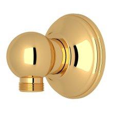 Italian Brass Handshower Wall Outlet