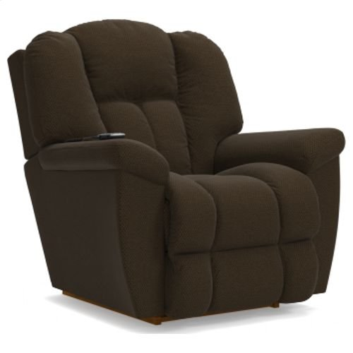 Maverick Power Rocking Recliner w/ Head Rest & Lumbar