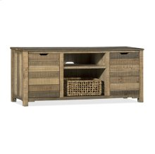 Harvest TV Console (Basket included)