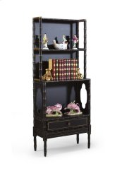 Bamboo Bookcase-black