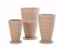 Mesa 3 pack Outdoor Planter Set Product Image
