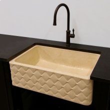 Quilted Apron Farmhouse Sink