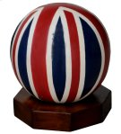 Large Wooden Sphere Product Image