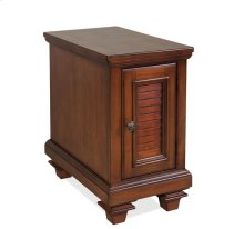Windward Bay Chairside Chest Warm Rum finish