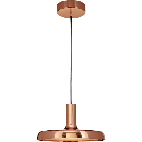 Visual Comfort PB5010SC Peter Bristol Dot LED 14 inch Soft Copper Pendant Ceiling Light