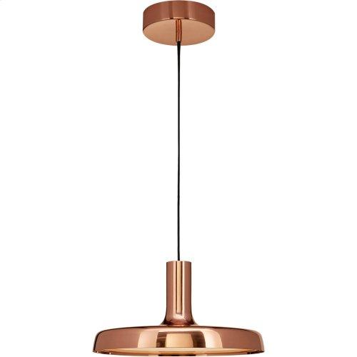 Visual Comfort PB5010SC Peter Bristol Dot LED 14 inch Soft Copper Pendant Ceiling Light