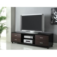 Contemporary Two-tone TV Console