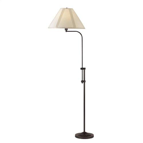 150W 3 WAY FLOOR LAMP WITH ADJUSTABLE HEIGHT