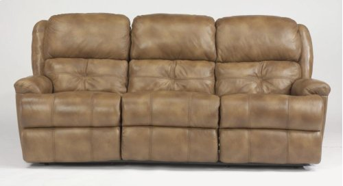 Cruise Control Leather or Fabric Power Reclining Sofa