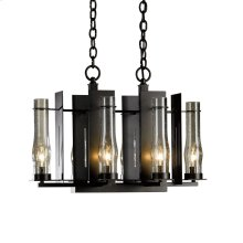 New Town 6 Arm Chandelier