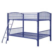 Full Blue Econo Bunk Bed