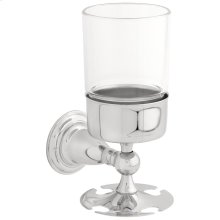 Chrome Toothbrush / Tumbler Holder