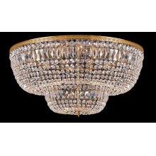 24 Light Clear Swarovski Crystal Ceiling Mount