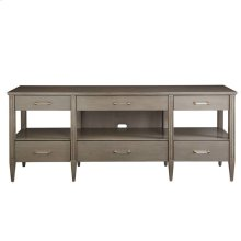 Oasis-Mulholland Media Console in Grey Birch