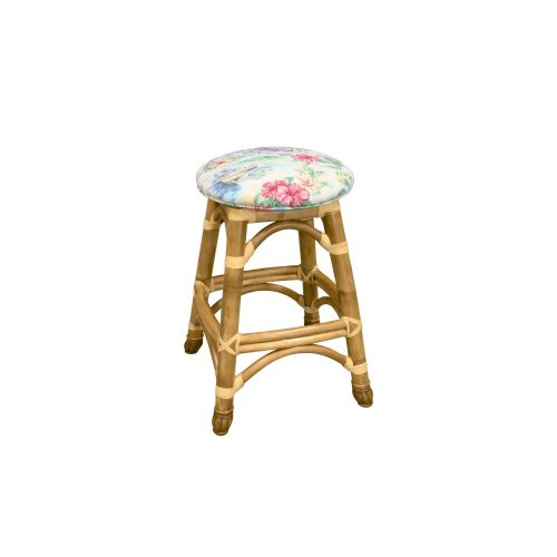 24'' Backless Bar Stool,Available in Natural Finish Only.