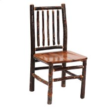 Spoke-back Side Chair Natural Hickory Wood seat