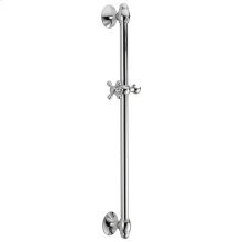 "Chrome 29"" Adjustable Wall Bar"