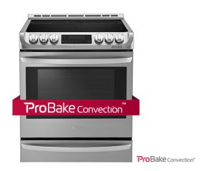 6.3 CU.FT Capacity Slide-in Electric Range With Probake Convection
