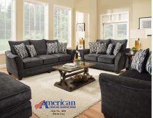 3850 - Athena Gray Sofa