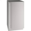 "5 Class 18"" Refrigerator With Stainless Solid Finish and Field Reversible Door Swing (115 Volts / 60 Hz)"