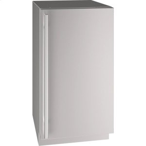 """U-Line 5 Class 18"""" Refrigerator With Stainless Solid Finish And Field Reversible Door Swing (115 Volts / 60 Hz)"""