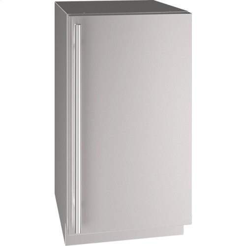 """5 Class 18"""" Refrigerator With Stainless Solid Finish and Field Reversible Door Swing (115 Volts / 60 Hz)"""