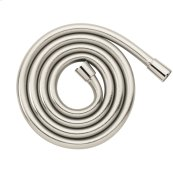 Polished Nickel Techniflex Hose, 63""
