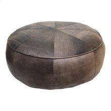 Arthuro Leather Ottoman Antique Brown