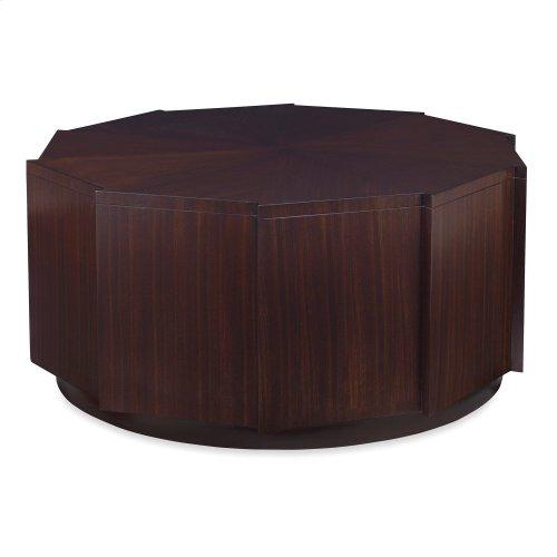 Decagonal Cocktail Table - Dark